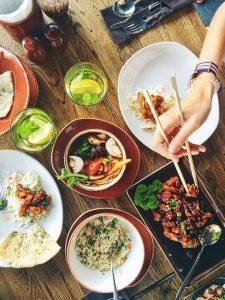 zdrowa kolacja azjatycka