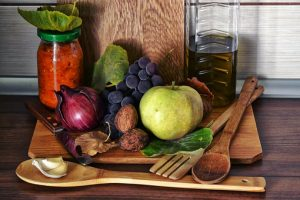 owoce i warzywa w kuchni