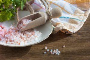 kryształki soli himalajskiej