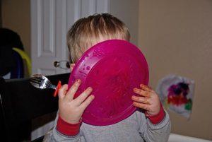 malec je z talerza