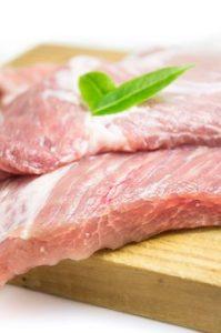 wieprzowina niewskazana na diecie